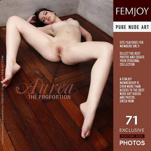 Aurea - `The Proportion` - by Tom Rodgers for FEMJOY