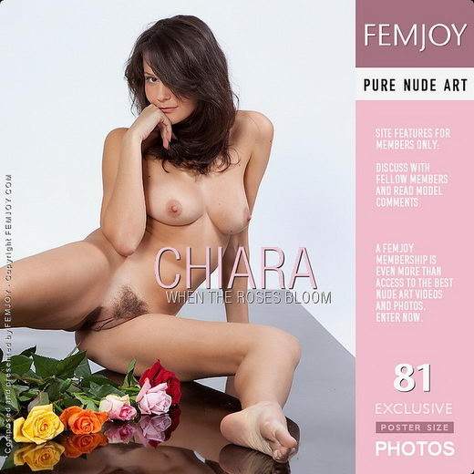 Chiara - `When The Roses Bloom` - by Lorenzo Renzi for FEMJOY