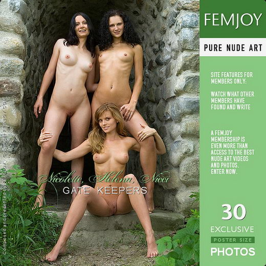 Helena & Nicci & Nicolette - `Gate Keepers` - by Stefan Soell for FEMJOY
