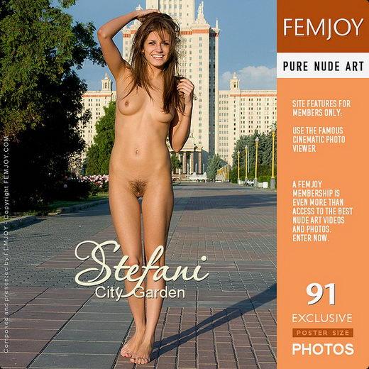 Stefani - `City Garden` - by Bluesman for FEMJOY