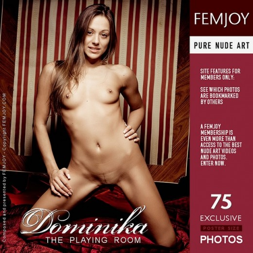 Dominika - `The Playing Room` - by Pedro Saudek for FEMJOY