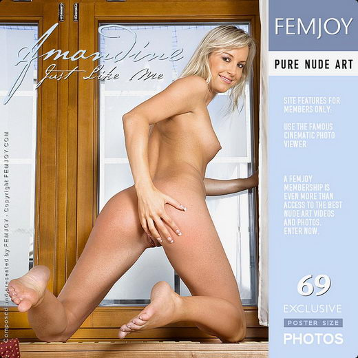 Amandine - `Just Like Me` - by Paolo Carlos for FEMJOY