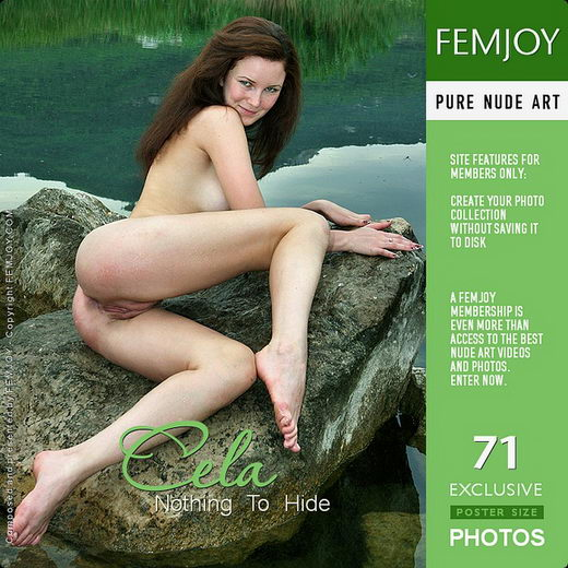 Cela - `Nothing To Hide` - by Valery Anzilov for FEMJOY