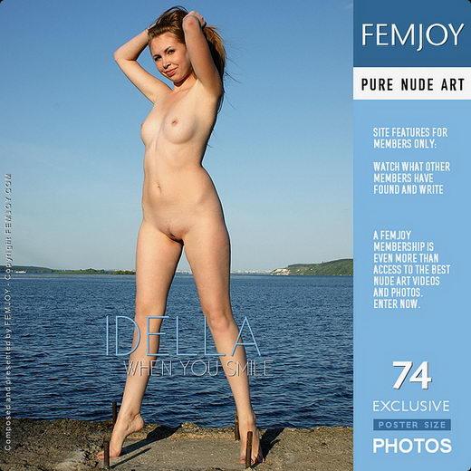 Idella - `When You Smile` - by Pasha Lisov for FEMJOY