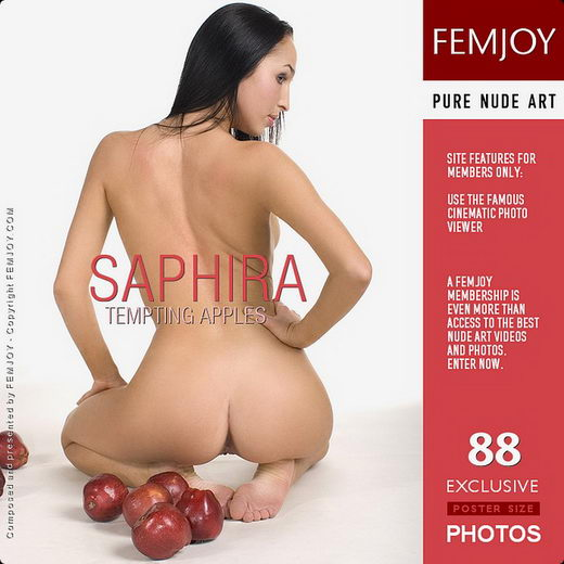 Saphira - `Tempting Apples` - by Pasha Lisov for FEMJOY