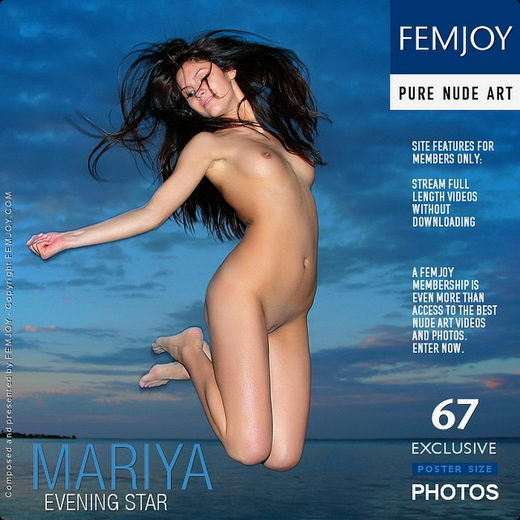 Mariya - `Evening Star` - by Marco Argutos for FEMJOY