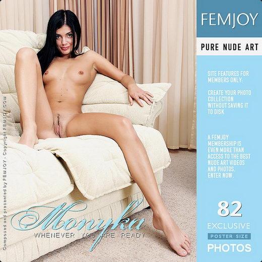 Monyka - `Whenever You Are Ready` - by Valery Anzilov for FEMJOY