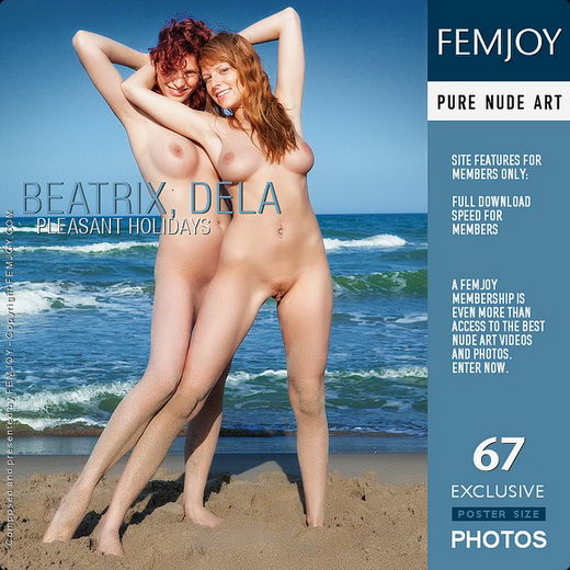 Beatrix & Dela - `Pleasant Holidays` - by Lorenzo Renzi for FEMJOY