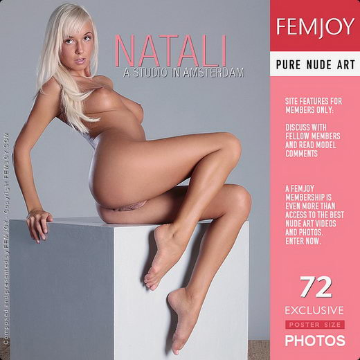 Natali - `A Studio In Amsterdam` - by Palmer for FEMJOY