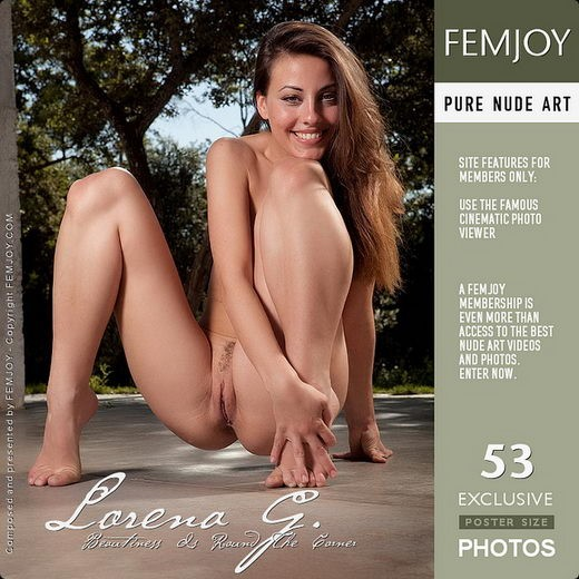 Lorena G - `Beautiness is around the Corner` - by Demian Rossi for FEMJOY