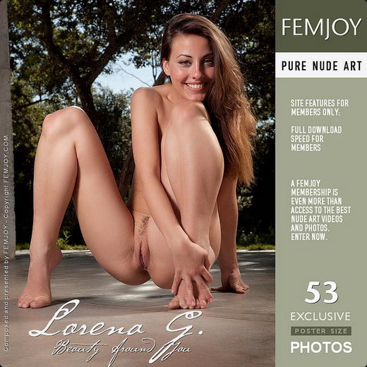 Lorena G - `Beauty Around You` - by Demian Rossi for FEMJOY