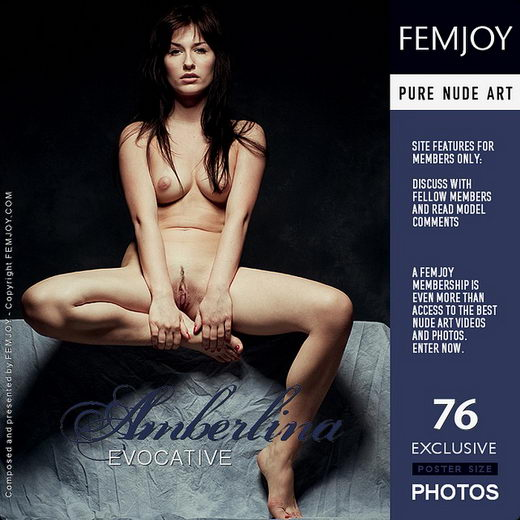 Amberlina - `Evocative` - by Pedro Saudek for FEMJOY