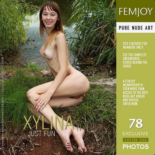Xylina - `Just Fun` - by Valery Anzilov for FEMJOY