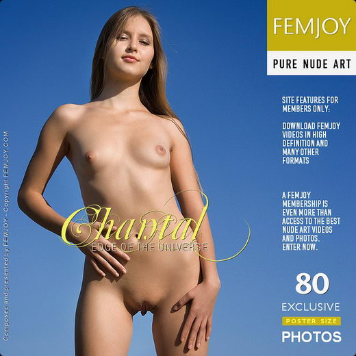 Chantal - `Edge Of The Universe` - by Pasha Lisov for FEMJOY