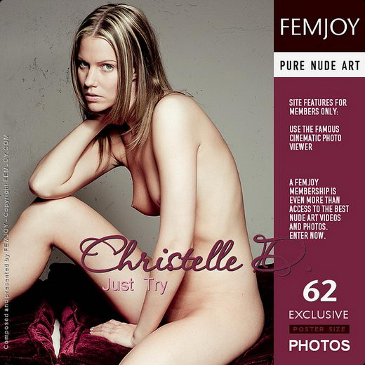 Christelle D - `Just Try` - by Pedro Saudek for FEMJOY