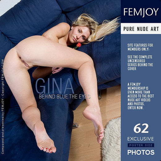 Gina - `Behind Blue The Eyes` - by Lorenzo Renzi for FEMJOY