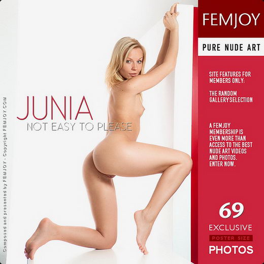 Junia - `Not Easy To Please` - by Demian Rossi for FEMJOY