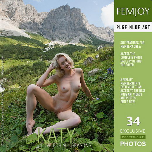 Katy - `Love For All Seasons` - by Stefan Soell for FEMJOY