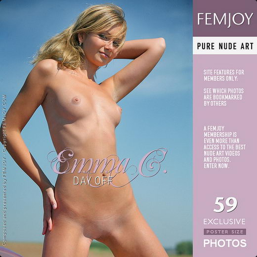 Emma C - `Day Off` - by Oleg for FEMJOY