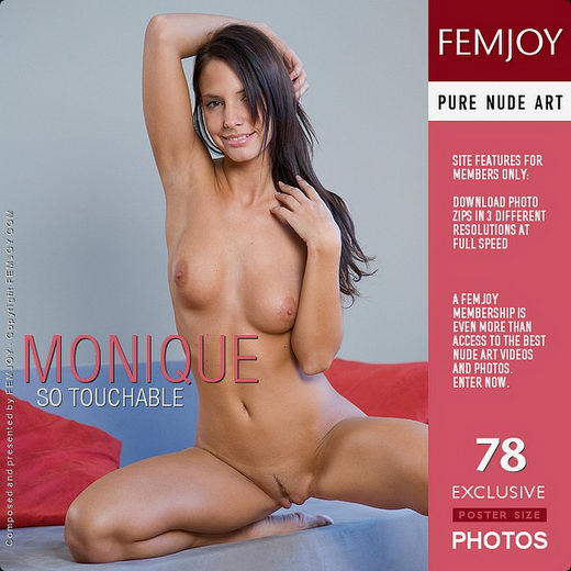 Monique - `So Touchable` - by Matteo Bosco for FEMJOY