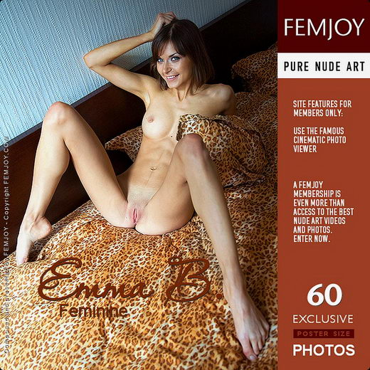 Emma B - `Feminine` - by Marco Argutos for FEMJOY