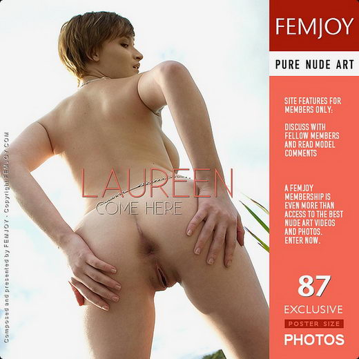 Laureen - `Come Here` - by Clark Morgan for FEMJOY