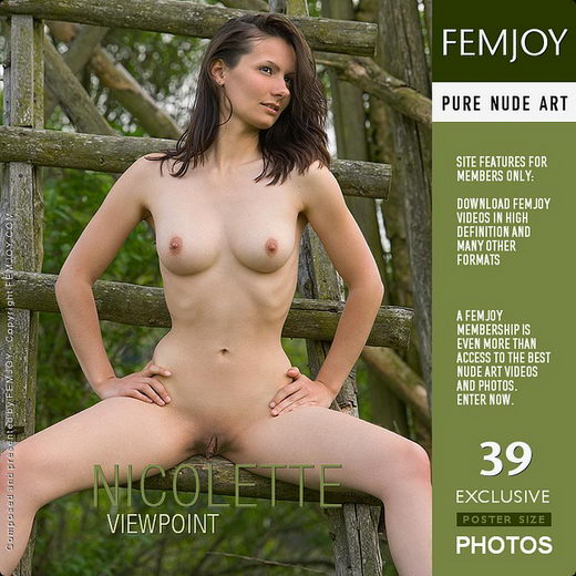 Nicolette - `Viewpoint` - by Stefan Soell for FEMJOY