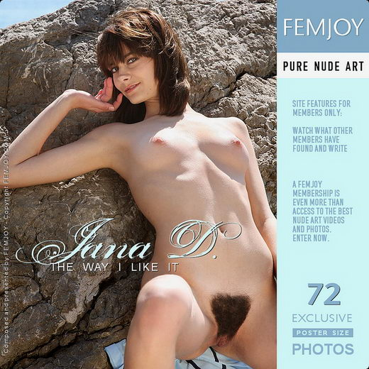 Jana D - `The Way I Like It` - by Alexander Gribanov for FEMJOY