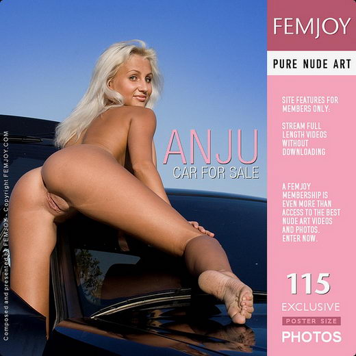 Anju - `Car For Sale` - by Pasha Lisov for FEMJOY