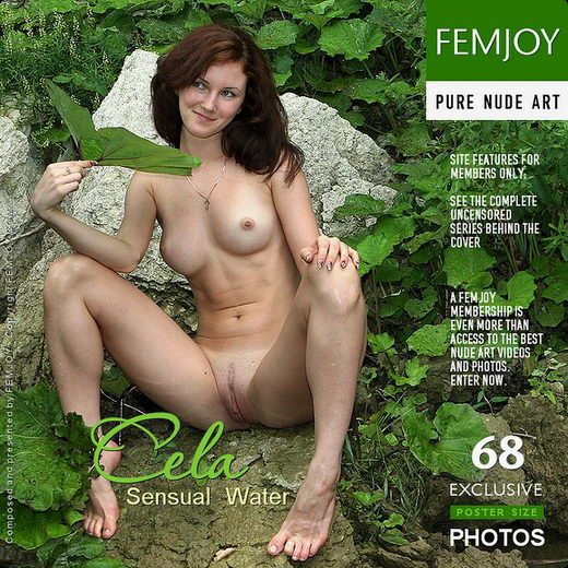 Cela - `Sensual Water` - by Valery Anzilov for FEMJOY