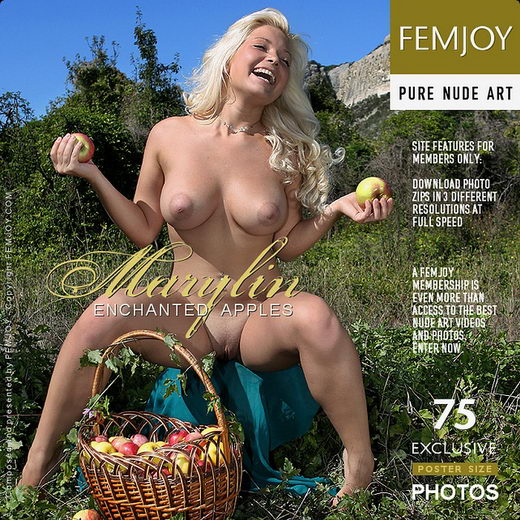 Marylin - `Enchanted Apples` - by Valery Anzilov for FEMJOY