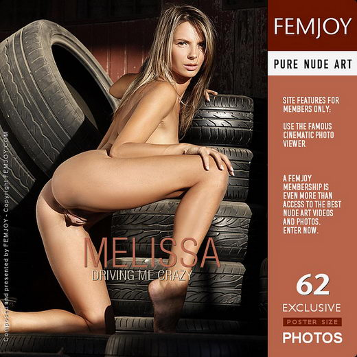 Melissa - `Driving Me Crazy` - by Tom Rodgers for FEMJOY