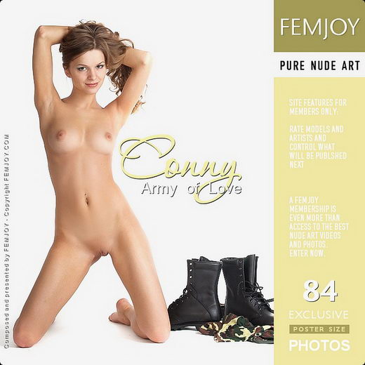 Conny - `Army Of Love` - by Georg Shoes for FEMJOY
