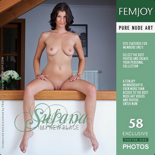 Susana - `My New Place` - by Matteo Bosco for FEMJOY