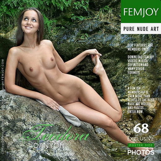 Teodora - `Canyon` - by Valery Anzilov for FEMJOY