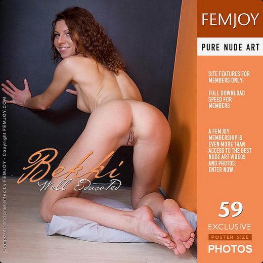 Bekki - `Well Educated` - for FEMJOY