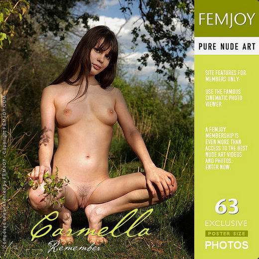 Carmella - `Remember` - by Tom Leonard for FEMJOY