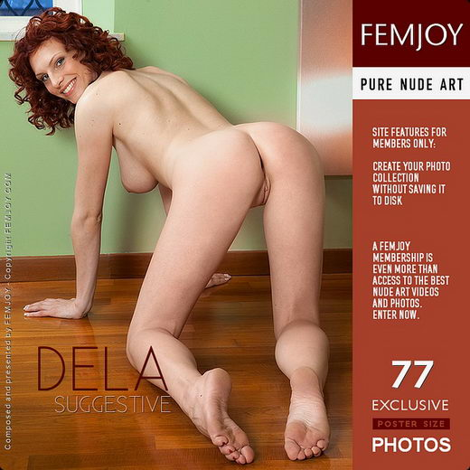 Dela - `Suggestive` - by Lorenzo Renzi for FEMJOY