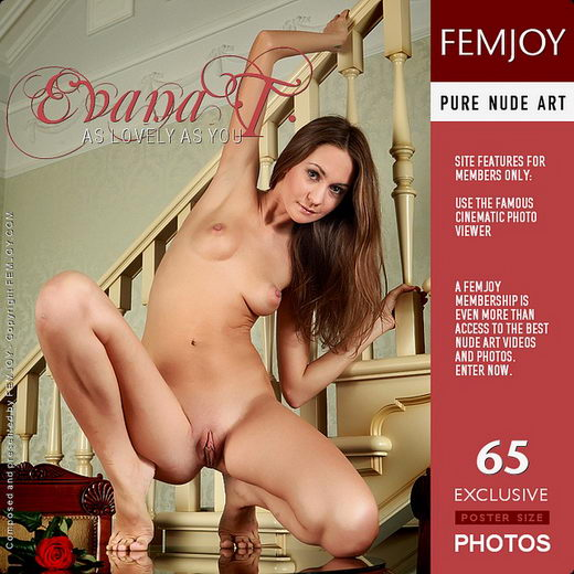 Evana T - `As Lovely As You` - by Helen Bajenova for FEMJOY