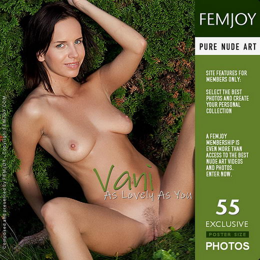 Vani - `As Lovely As You` - by Lorenzo Renzi for FEMJOY