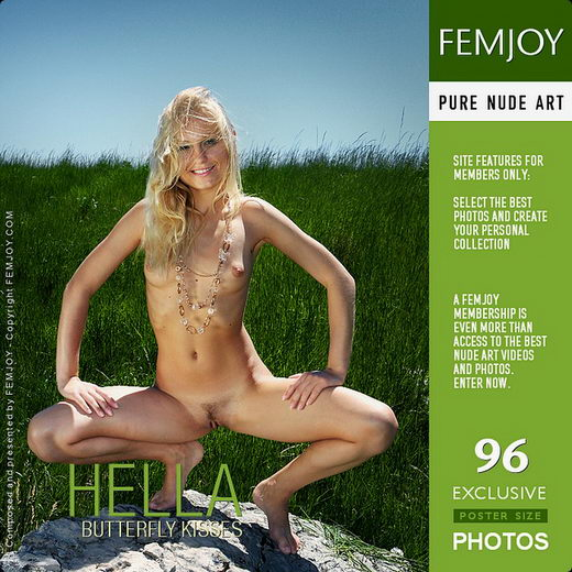 Hella - `Butterfly Kisses` - by Valery Anzilov for FEMJOY