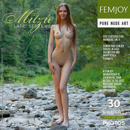 Mitzie in Late September gallery from FEMJOY by Stefan Soell