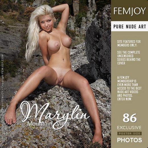 Marylin - `Mountain View` - by Valery Anzilov for FEMJOY