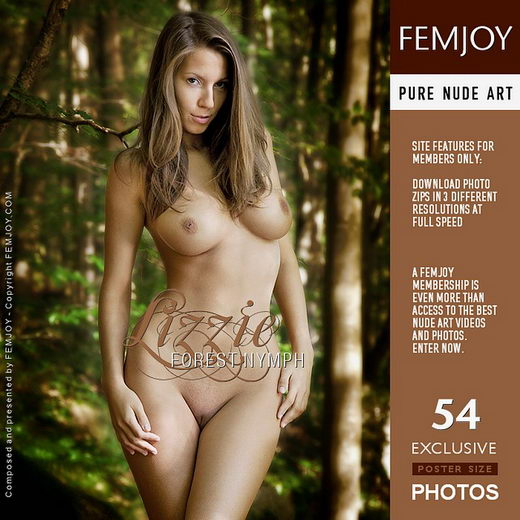 Lizzie - `Forest Nymph` - by Andrej Lupin for FEMJOY