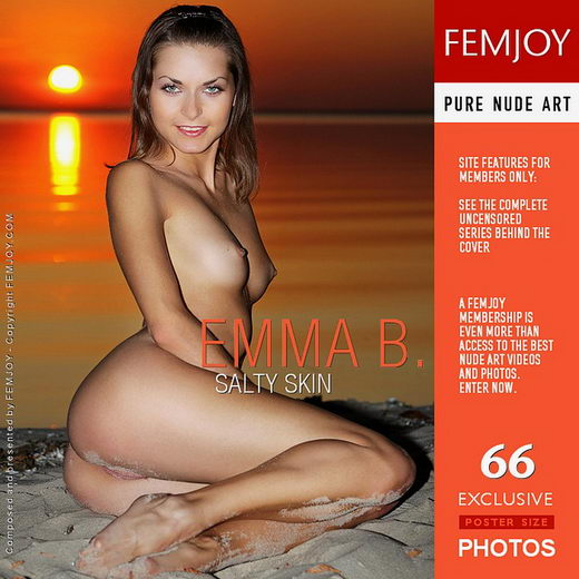 Emma B - `Salty Skin` - by Marco Argutos for FEMJOY