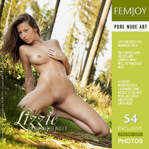 Lizzie - `Path of Beauty` - by Andrej Lupin for FEMJOY