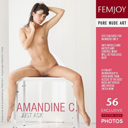 Amandine C - `Just Ask` - by Tom Rodgers for FEMJOY