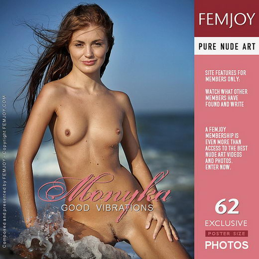 Monyka - `Good Vibrations` - by Marco Argutos for FEMJOY