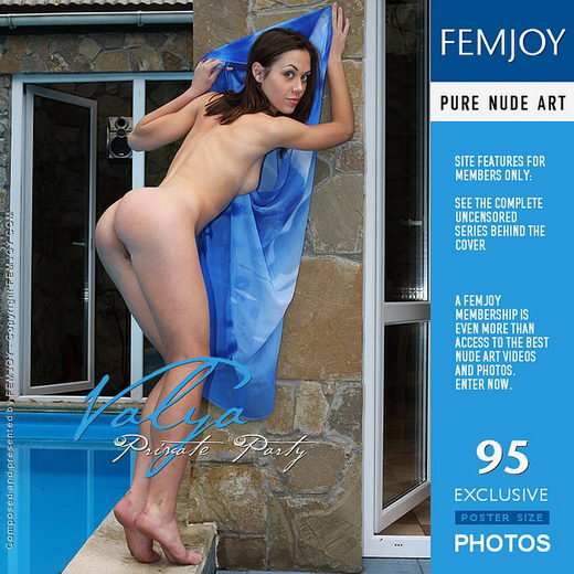 Valya - `Private Party` - by Valery Anzilov for FEMJOY
