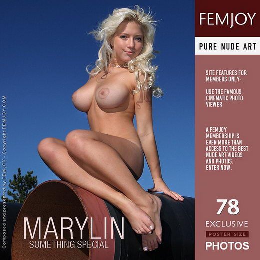 Marylin - `Something Special` - by Valery Anzilov for FEMJOY